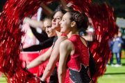 le majorettes Magic Star di Jesolo ad Anni Sereni